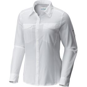 Columbia Silver Ridge Lite LS Shirt Women white
